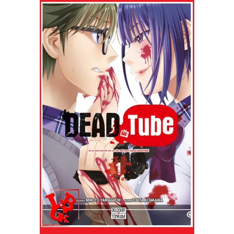 DEAD TUBE 1 / (Juin 2016) Vol. 01 par Delcourt Tonkam libigeek 9782756076478