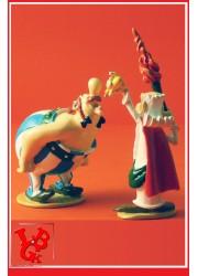 """ASTERIX & OBELIX : Statue """" Une, deux, trois gouttes Obelix"""" par Pixi-plastoy libigeek 3521320023571"""