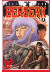 BERSERK 5  / (Rééd 2018) Vol. 05 par Glenat Manga libigeek 9782723449045