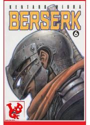 BERSERK 6 / (Rééd 2018) Vol. 06 par Glenat Manga libigeek 9782723449052