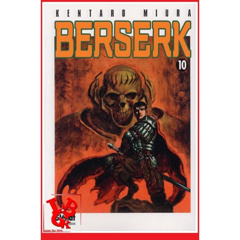 BERSERK 10 / (Rééd 2018) Vol. 10 par Glenat Manga libigeek 9782723451000