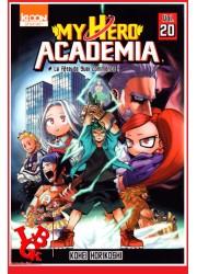 MY HERO ACADEMIA 20 (Sept 2019) - Vol. 20 - Shonen par Ki-oon libigeek 9791032704820