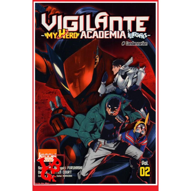 VIGILANTE MHA Illegals 2 (Fev 2018) - Vol. 02 - Shonen par Ki-oon libigeek 9791032702178