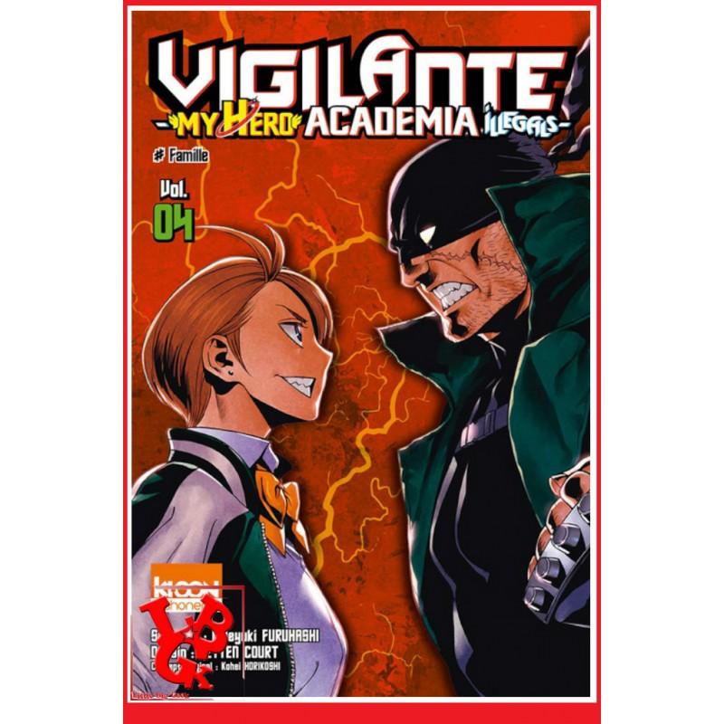 VIGILANTE MHA Illegals 4 (Oct 2018) - Vol. 04 - Shonen par Ki-oon libigeek 9791032703229