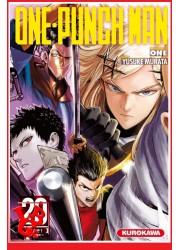 ONE PUNCH MAN 20 (Juin 2020) - Vol.20 - Shonen par Kurokawa libigeek 9782368529256