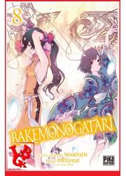 BAKEMONOGATARI 8 (Sept 2020) Vol. 08 Oh ! Great - Shonen par Pika libigeek 9782811657307