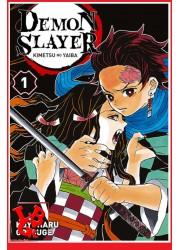 DEMON SLAYER 1 (Sept 2019) Vol. 01 - Shonen par Panini Manga libigeek 9782809482317