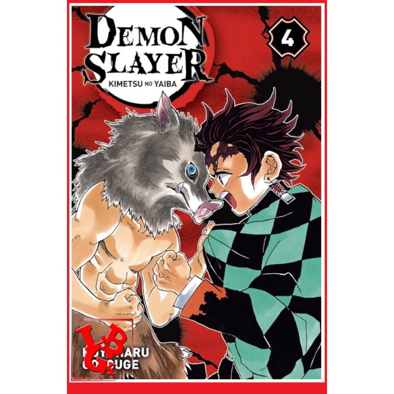 DEMON SLAYER 4 (Oct 2019) Vol. 04 - Shonen par Panini Manga libigeek 9782809476903