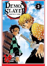 DEMON SLAYER 3 (Oct 2019) Vol. 03 - Shonen par Panini Manga libigeek 9782809476132