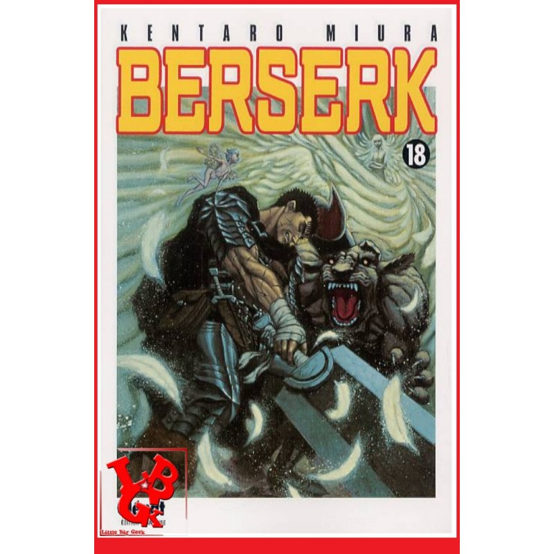 BERSERK 18 / (Rééd 2018) Vol. 18 par Glenat Manga libigeek 9782723454414