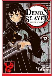 DEMON SLAYER 12 (Oct 2020) Vol. 12 - Shonen par Panini Manga libigeek 9782809490084