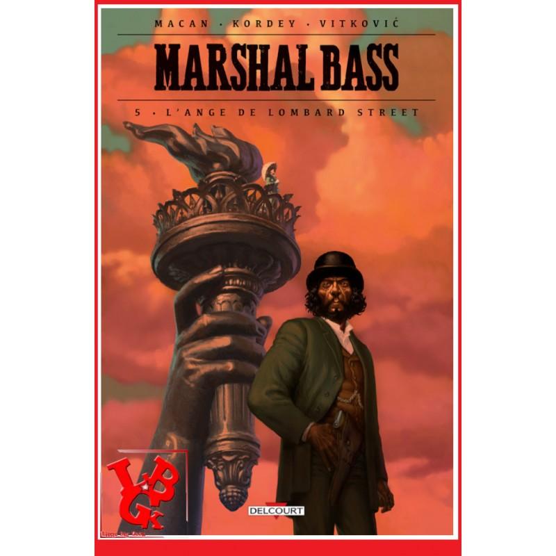 MARSHALL BASS 5 (Nov 2019) Vol. 05 / L'ange de Lombard Street par Delcourt libigeek 9782413013860