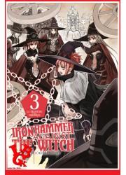 IRON HAMMER AGAINST THE WITCH 3 / (Avr 2019) Vol. 03 par Delcourt Tonkam libigeek 9782413012405