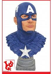 CAPTAIN AMERICA -  Buste 1/2 Legends 3D par Diamond Select libigeek 699788831168