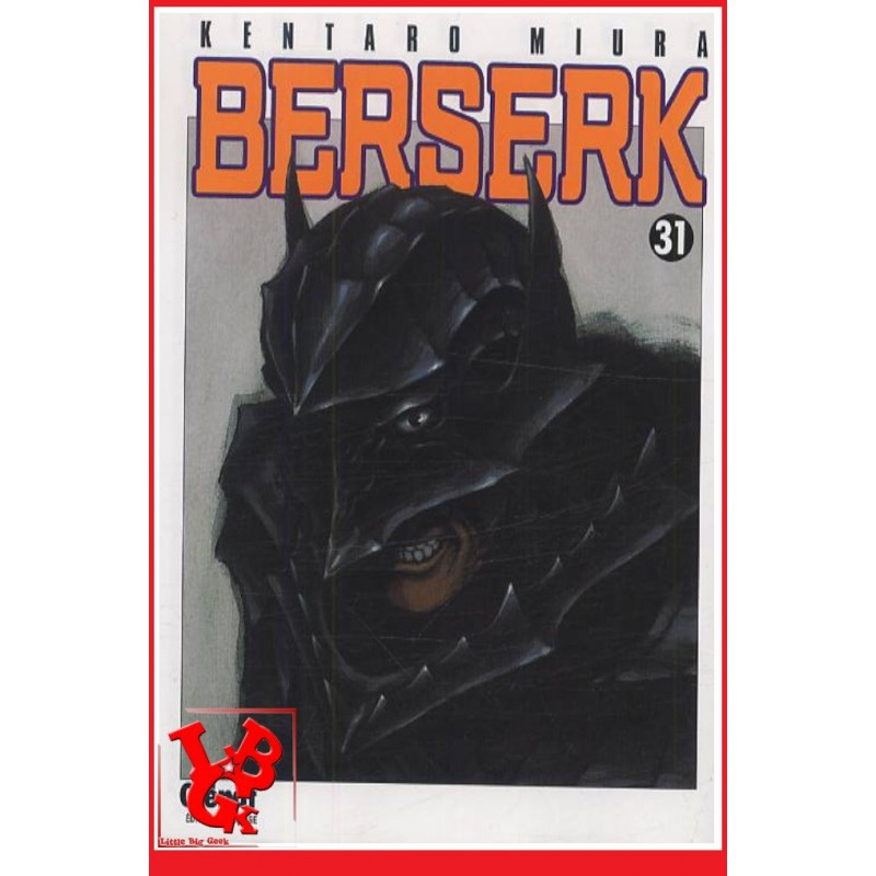 BERSERK 31 / (Rééd 2018) Vol. 31 par Glenat Manga libigeek 9782723467223