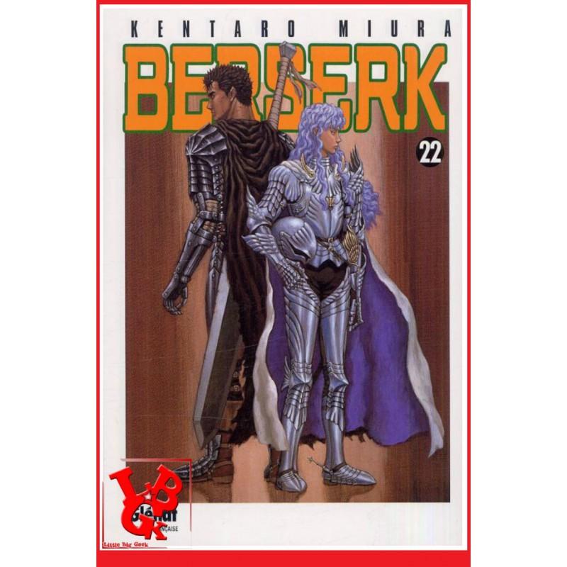 BERSERK 22 / (Rééd 2018) Vol. 22 par Glenat Manga libigeek 9782723458283