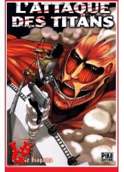 L'ATTAQUE DES TITANS 1 (Juin 2013) Vol. 01 - Seinen par Pika libigeek 9782811611699