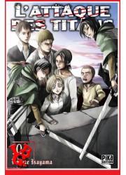L'ATTAQUE DES TITANS 10 (Oct 2014) Vol. 10 - Seinen par Pika libigeek 9782811615994