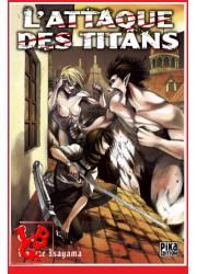 L'ATTAQUE DES TITANS 8 (Juil 2014) Vol. 08 - Seinen par Pika libigeek 9782811615154