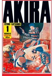 AKIRA 1 (Juin 2016) Vol. 01 Éd. Noir & Blanc Originale - Seinen par Glenat Manga libigeek 9782344012406