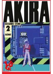 AKIRA 2 (Mai 2017) Vol. 02 Éd. Noir & Blanc Originale - Seinen par Glenat Manga libigeek 9782344012413