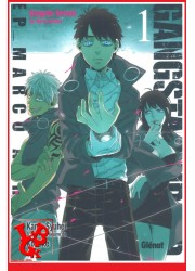 GANGSTA CURSED 1 (Juil 2016) Vol. 01 Marco Adriano par Glenat Manga libigeek 9782344013007