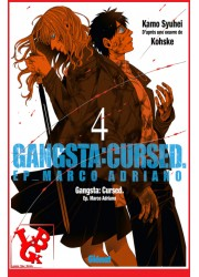 GANGSTA CURSED 4 (Fev  2018) Vol. 04 Marco Adriano par Glenat Manga libigeek 9782344027578