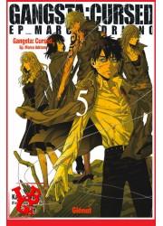 GANGSTA CURSED 5 (Oct  2018) Vol. 05 Marco Adriano par Glenat Manga libigeek 9782344013007