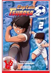 CAPTAIN TSUBASA 2 - Anime Saison 1 (Janv 2021) Vol. 02 par Nobi! Nobi! libigeek 9782373494679