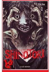 SHINOTORI 1 (Nov 2020)  Vol. 01 Les Ailes de la mort - Seinen par Kaze Manga libigeek 9782820338341