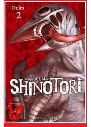 SHINOTORI 2 (Janv 2021)  Vol. 02 Les Ailes de la mort - Seinen par Kaze Manga libigeek 9782820338532