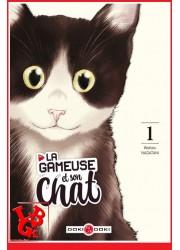 LA GAMEUSE ET SON CHAT 1 (Janv 2021) Vol. 1 - seinen par Doki-Doki libigeek 9782373491555