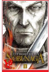 L'HOMME QUI TUA NOBUNAGA 1 (Fev 2021) Vol. 01 - Seinen par Delcourt libigeek 9782413028123