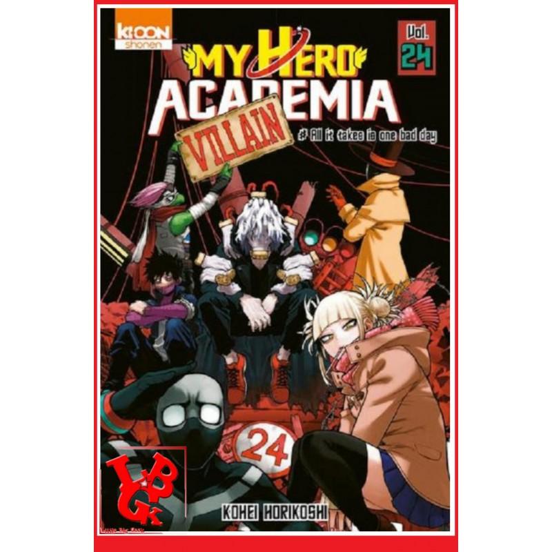 MY HERO ACADEMIA 24 (Juil 2020) - Vol. 24 - Shonen par Ki-oon libigeek 9791032706473