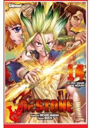 Dr STONE 14 (Fev 2021) Vol. 14 Shonen par Glenat Manga libigeek 9782344044179