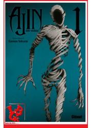 AJIN : Semi Humain 1 (Juil 2015) Vol. 01 - Seinen par Glenat Manga libigeek 9782344007440