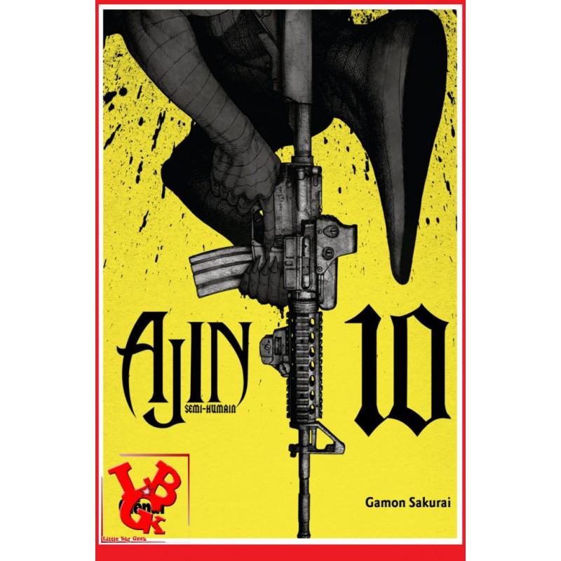 AJIN : Semi Humain 10 (Nov 2017) Vol. 10 - Seinen par Glenat Manga libigeek 9782344024188