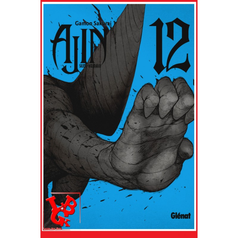 AJIN : Semi Humain 12 (Nov 2018) Vol. 12 - Seinen par Glenat Manga libigeek 9782344028773