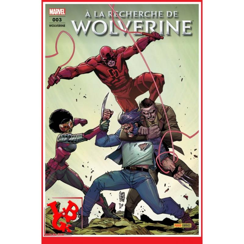 WOLVERINE Fresh Start 3 Mensuel (Avr 2019) Vol. 03 A la recerche de ... par Panini Comics libigeek 9782809477825