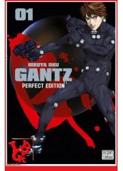1 - GANTZ (Perfect Ed.) Vol. 01 par Delcourt Tonkam libigeek 9782756095585