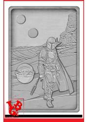 STAR WARS / The Mandalorian Lingot Iconic Scene Collection par FaNaTtik libigeek 5056285138940