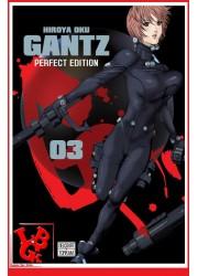 GANTZ Perfect Ed.3 (Sept 2017) Vol. 03 par Delcourt Tonkam libigeek 9782756095608