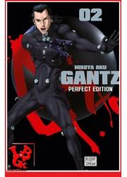 GANTZ Perfect Ed.2 (Aou 2017) Vol. 02 par Delcourt Tonkam libigeek 9782756095592