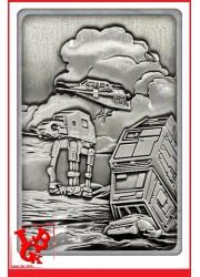 STAR WARS / Battle for Hoth Lingot Iconic Scene Collection par FaNaTtik libigeek 5056285136939