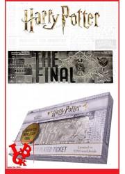 HARRY POTTER / Réplique Ticket Finale de Quidditch Argent par FaNaTtik libigeek 5060662464225