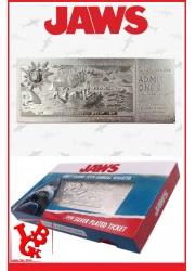 LES DENTS DE LA MER / Réplique Ticket plaqué Argent par FaNaTtik libigeek 5060662465345