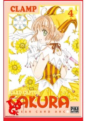 CARD CAPTOR SAKURA Clear Arc 4 (Oct 2018) Vol. 04 Shojo - Clamp par Pika libigeek 9782811645489
