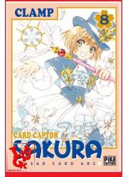 CARD CAPTOR SAKURA Clear Arc 8 (Oct 2020) Vol. 08 Shojo - Clamp par Pika libigeek 9782811659110