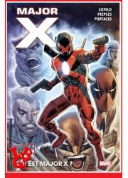 MAJOR X (Avr 2021) Marvel Deluxe - Qui est Major X? par Panini Comics libigeek 9782809483857