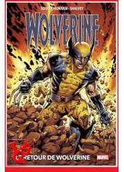 WOLVERINE Le Retour Marvel Deluxe (Sept 2020) par Panini Comics libigeek 9782809489293